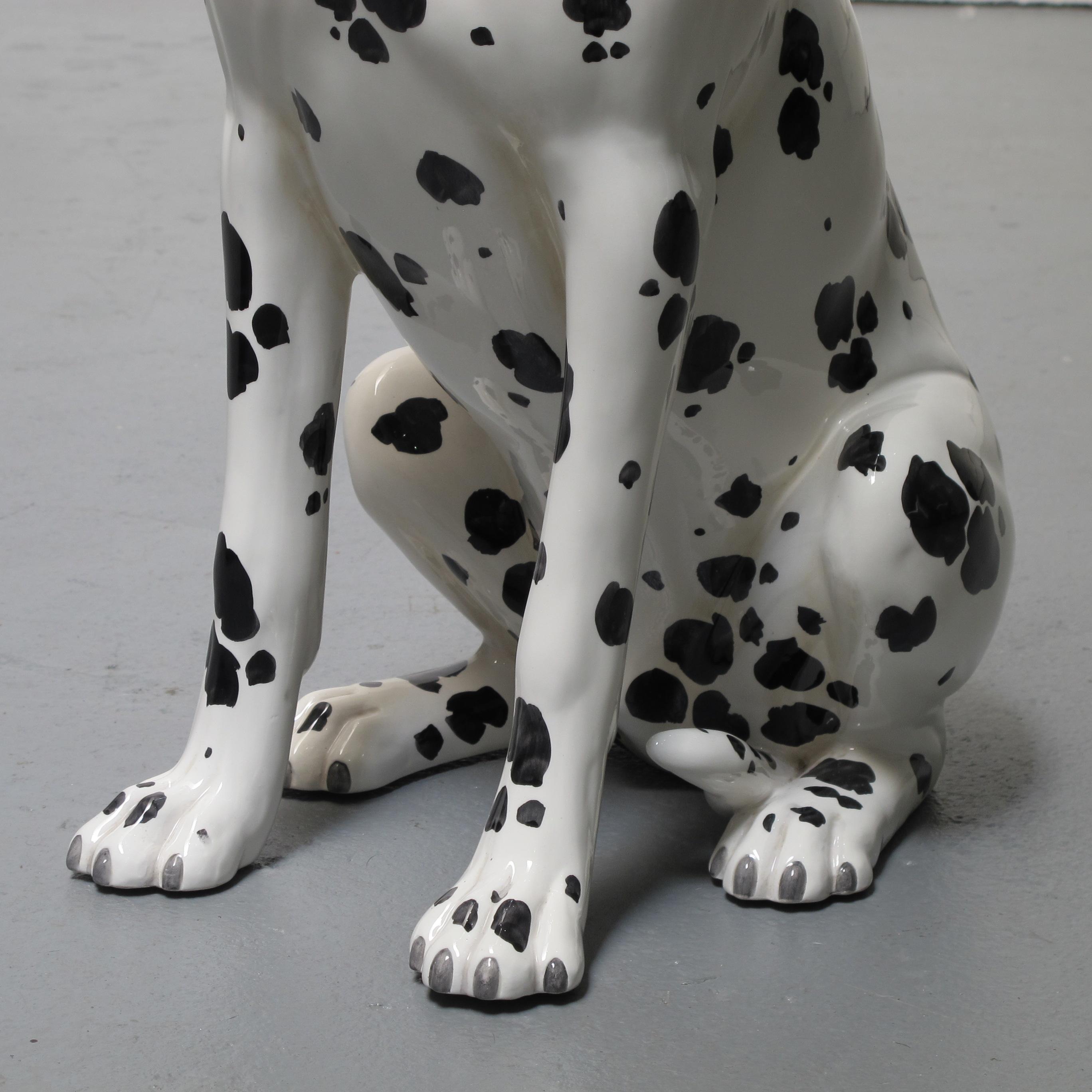 Ceramic Dog Dalmatian Les Trois Gar 231 Ons