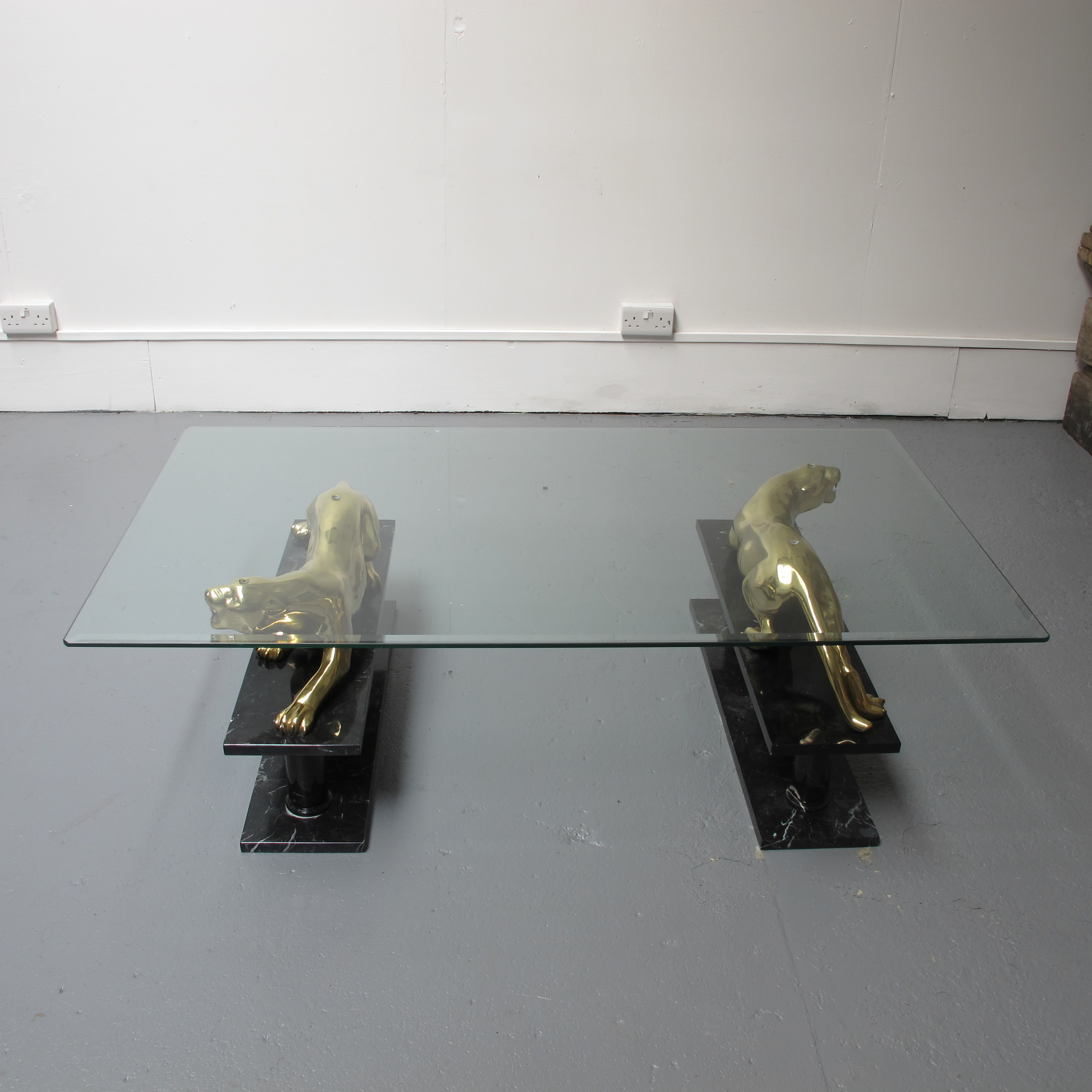 Maison Jansen Panther Coffee Table Les Trois Gar§ons