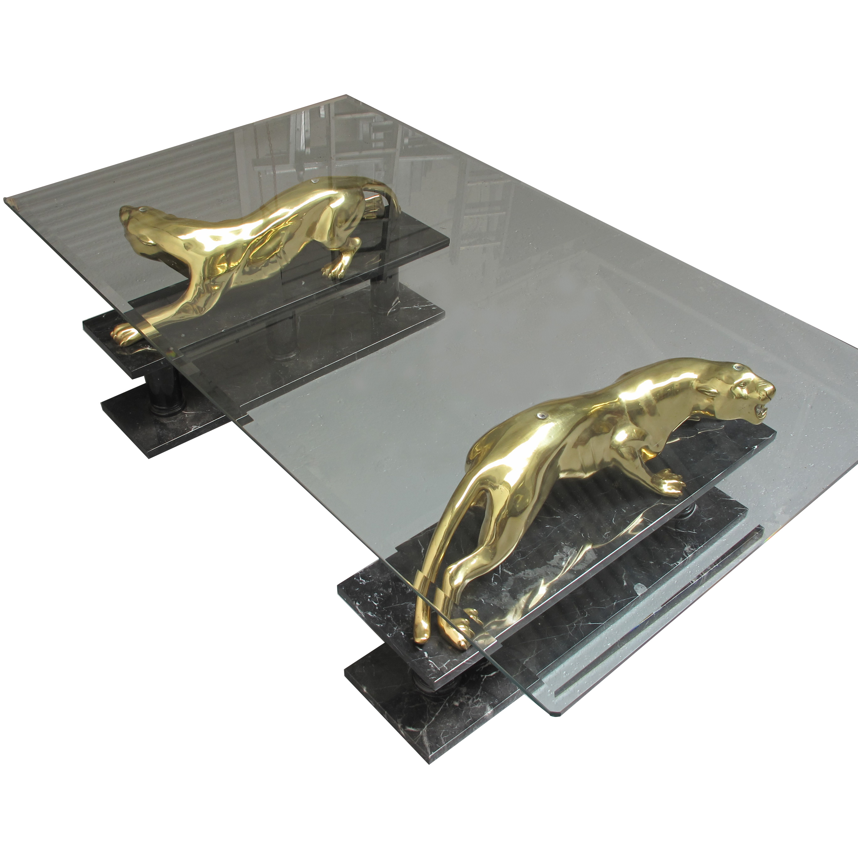 Maison Jansen Panther Coffee Table