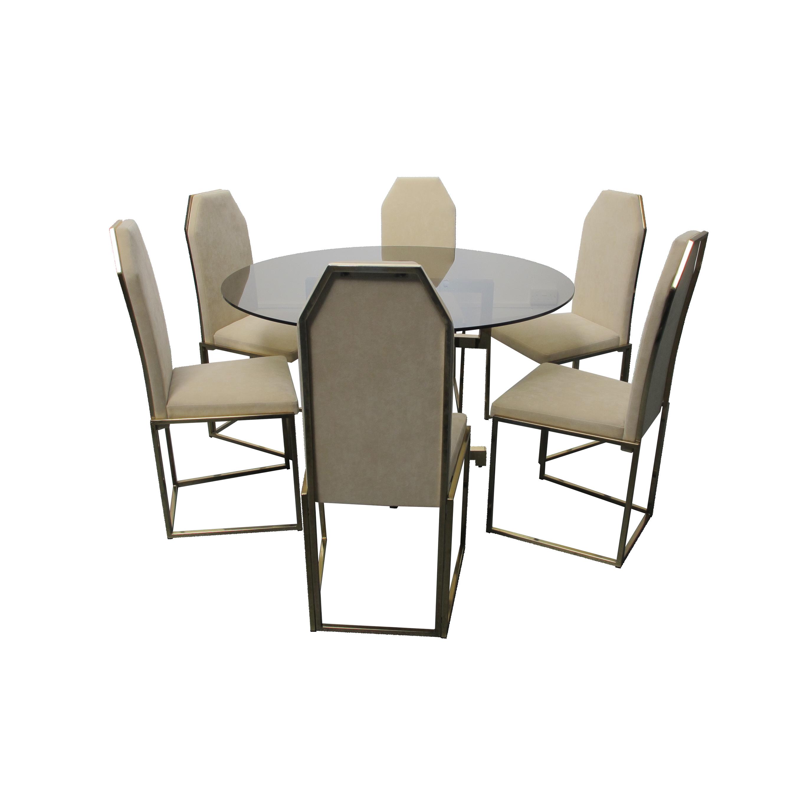 Belgo Chrome Dining Chairs