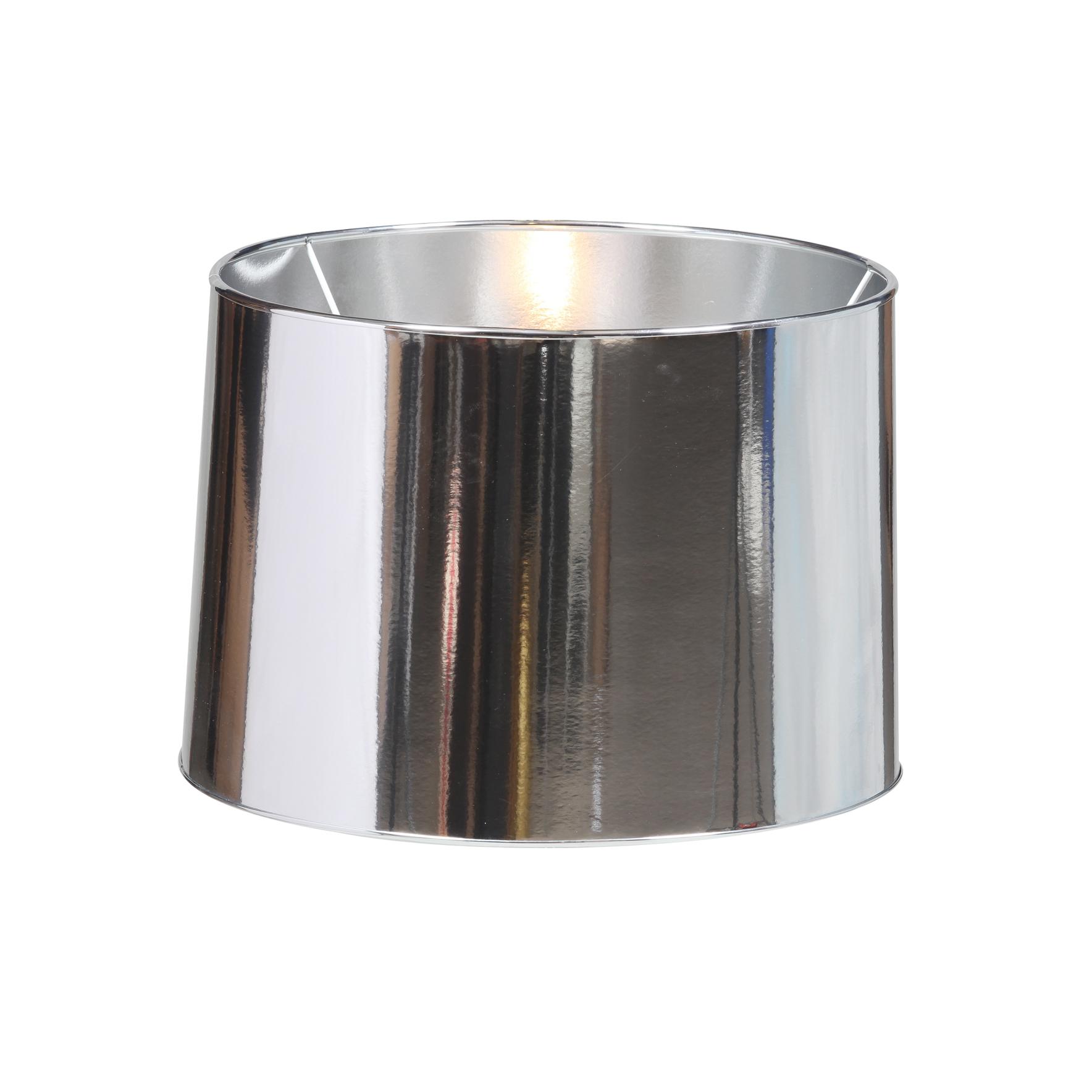 Large Metallic Silver Lamp Shade Les Trois Garcons Interiors