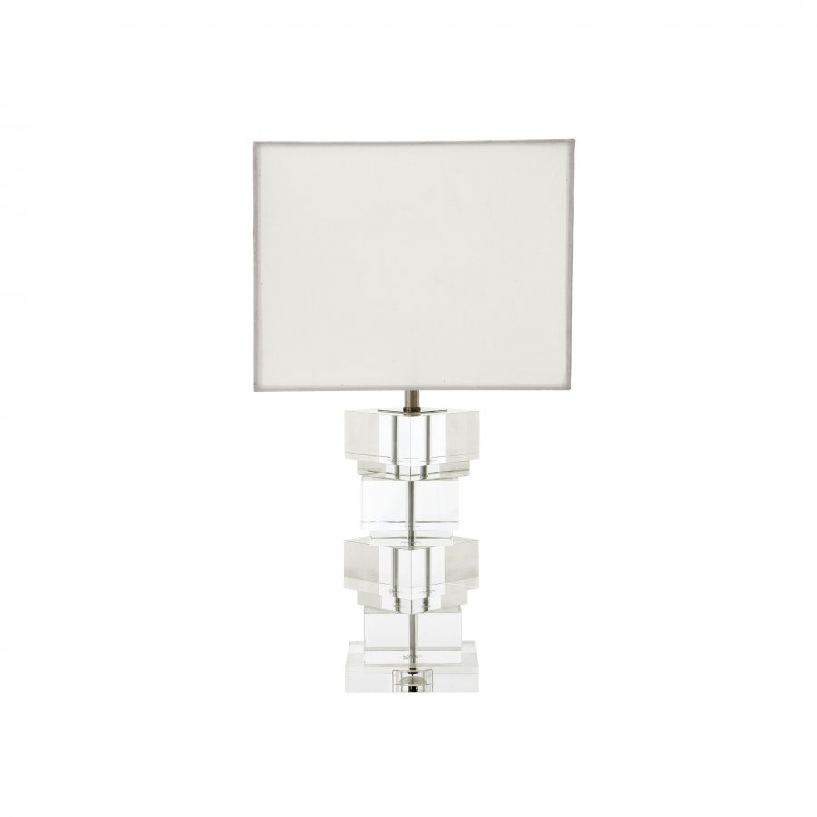 Modern glass table lamp - Glass Table Lamp Lyse