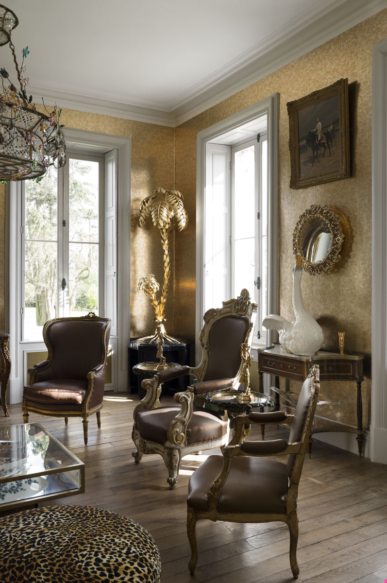Us Interior Designs Jacques Grange: Les Trois Garcons Interiors