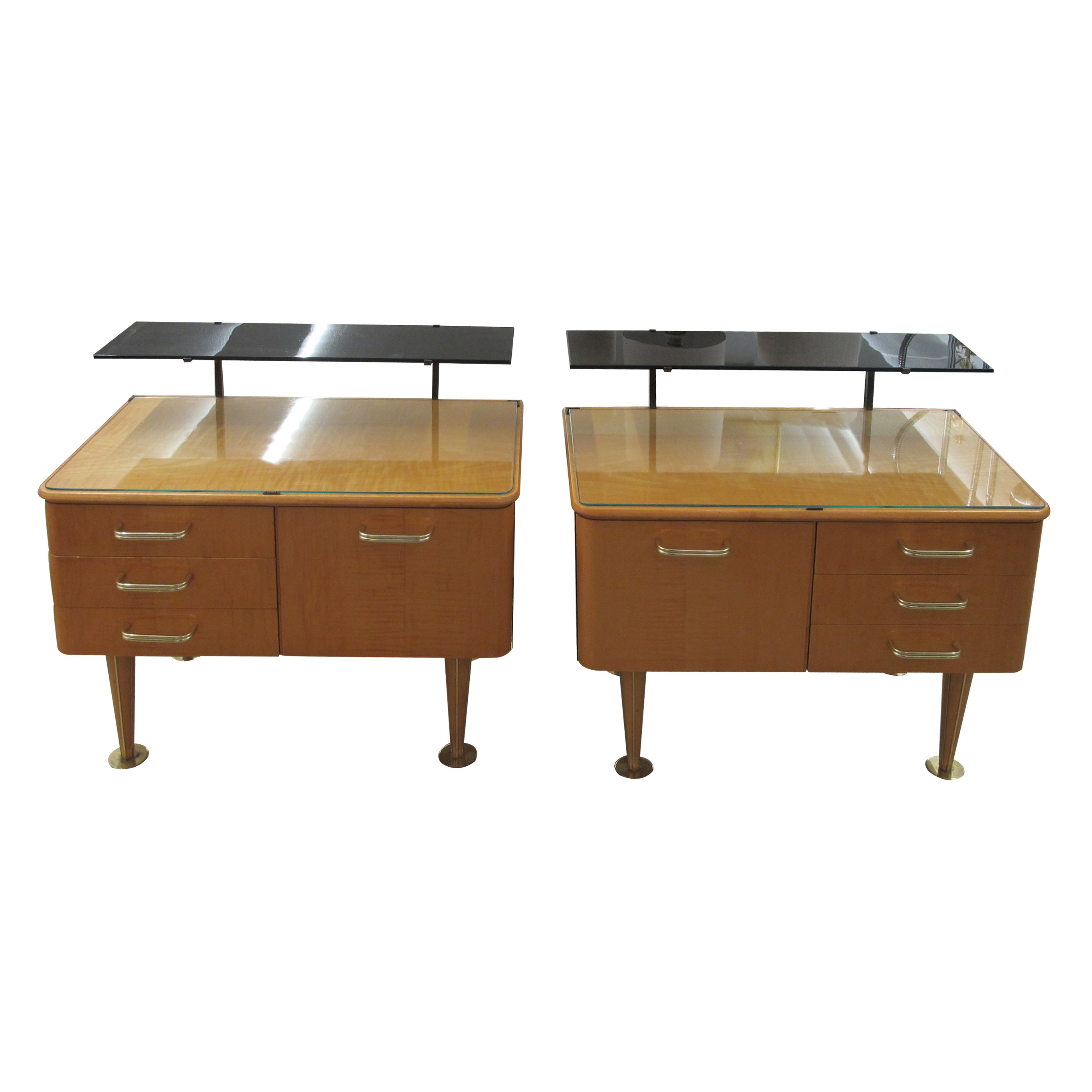 Picture of: Mid Century Bedside Tables Les Trois Garcons Interiors