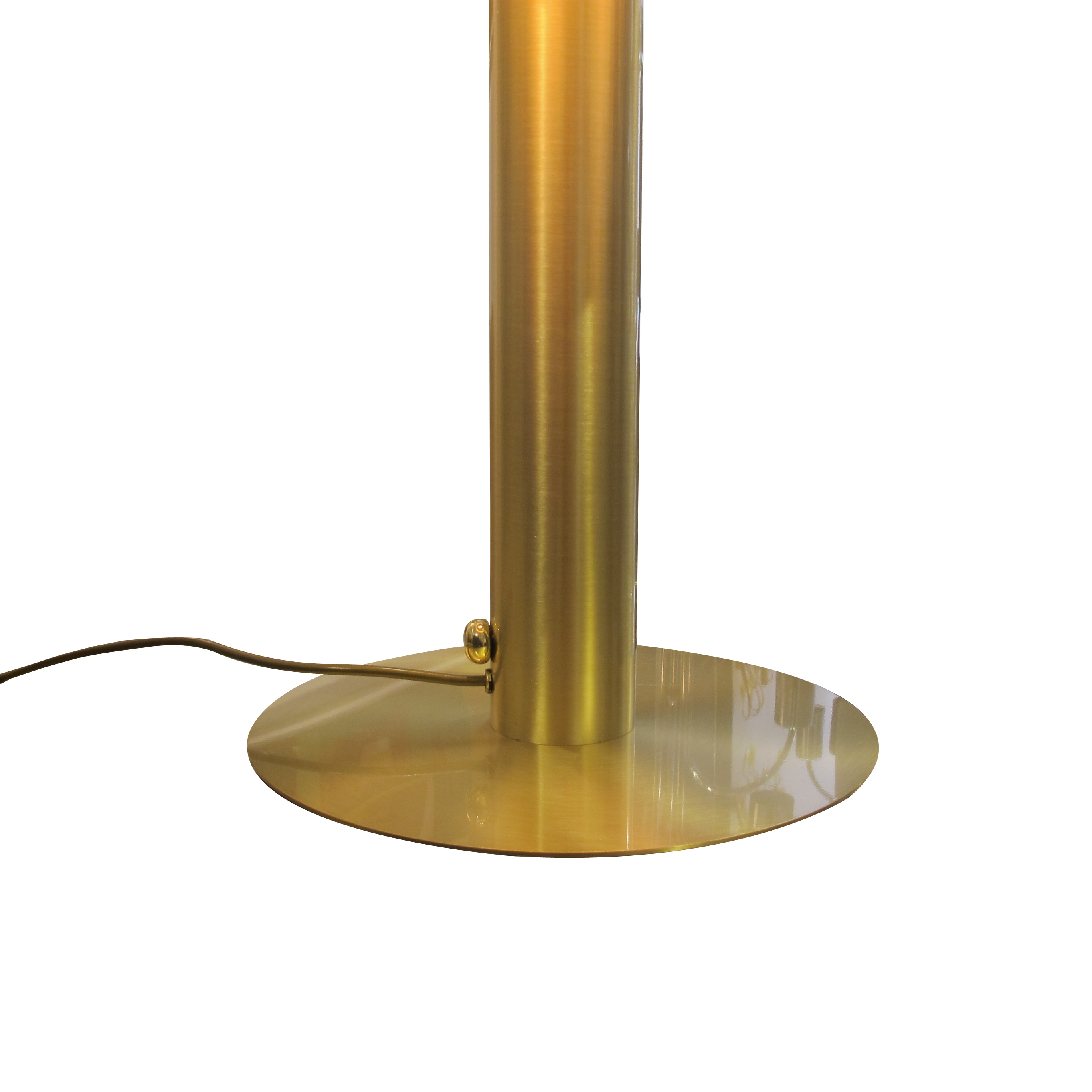 A very large pair of brass table lamps les trois garcons interiors a very large pair of brass table lamps aloadofball Choice Image
